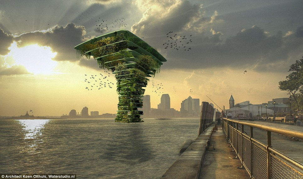Sea Tree Skyscraper