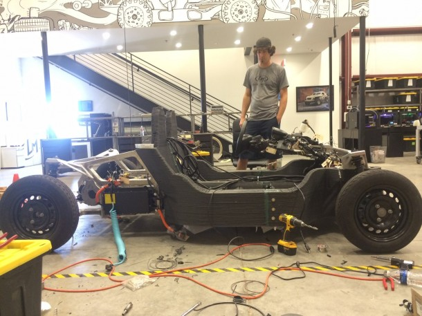 Strati by Local Motors – The First 3D Printed Car