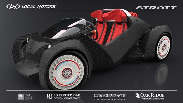 Strati by Local Motors – The First 3D Printed Car3