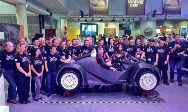 Strati by Local Motors – The First 3D Printed Car4