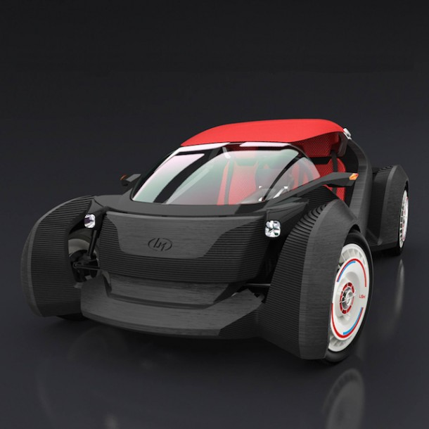 Strati by Local Motors – The First 3D Printed Car5