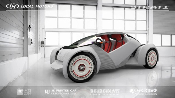 Strati by Local Motors – The First 3D Printed Car6