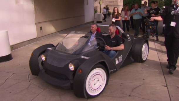 Strati by Local Motors – The First 3D Printed Car9