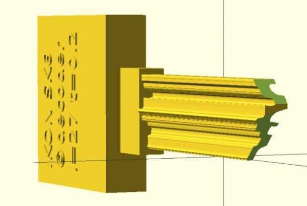 The 3D Printed Bump Key 2