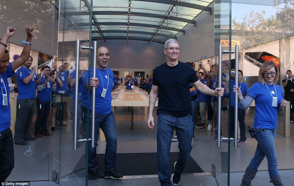 The Launch of iPhone 6 and iPhone 6 Plus 11
