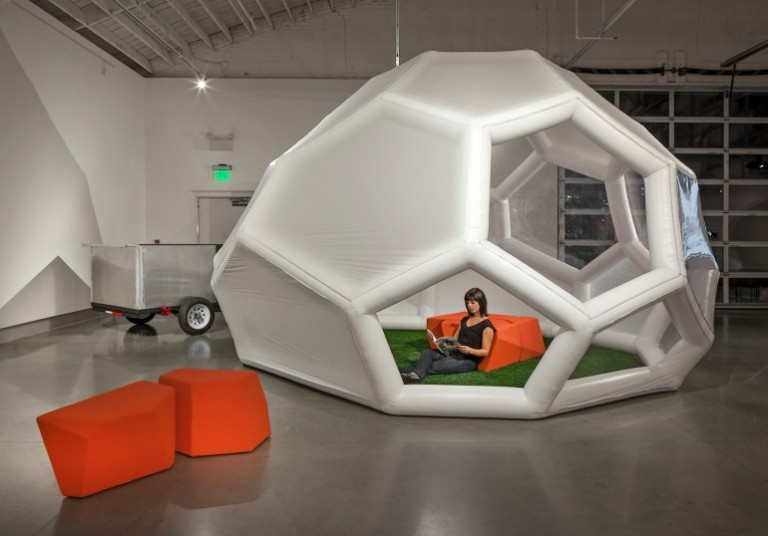 The Pneumad – Inflatable and Portable Shelter4