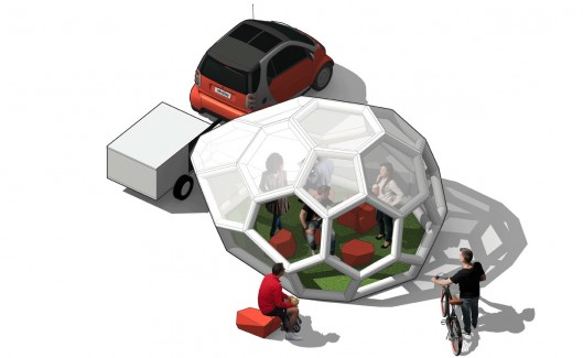 The Pneumad – Inflatable and Portable Shelter5