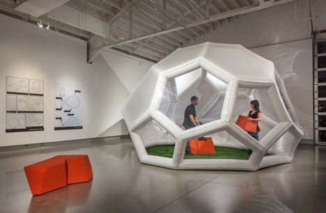The Pneumad – Inflatable and Portable Shelter6