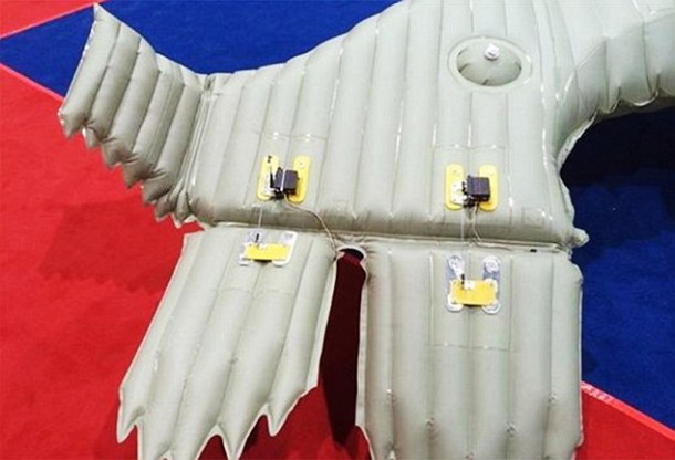 Chinese Engineer Present Lifes Work On Indestructable Inflatable Plane