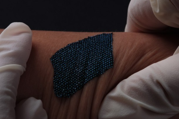 This Patch like Device will Monitor Your Heart and Skin