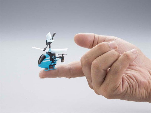 World's Smallest RC Helicopter is Pico-Falcon
