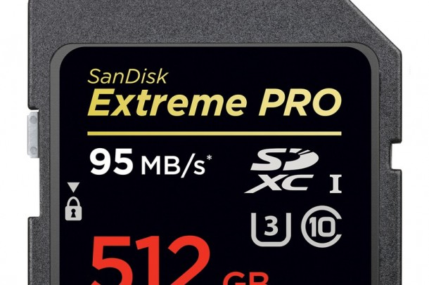 World's Biggest SD Card by SanDisk Costs $800 and Has a Capacity of 512 GB3