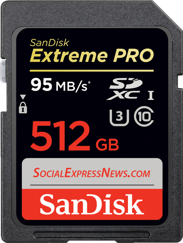 World's Biggest SD Card by SanDisk Costs $800 and Has a Capacity of 512 GB6