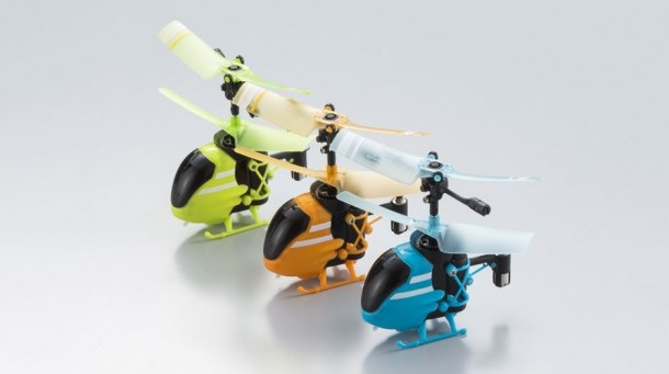 World's Smallest RC Helicopter is Pico-Falcon3