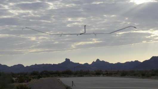 Zephyr UAV 3