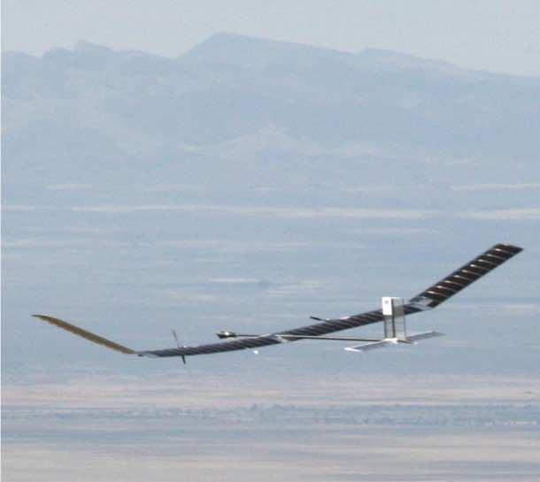 Zephyr UAV 4