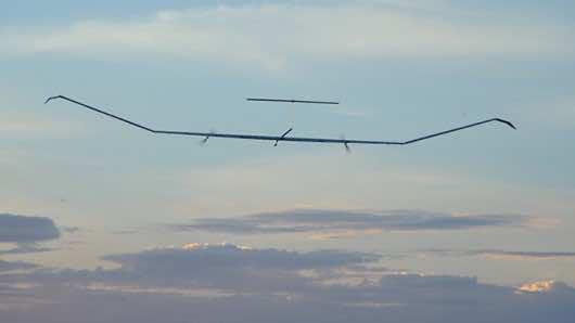 Zephyr UAV