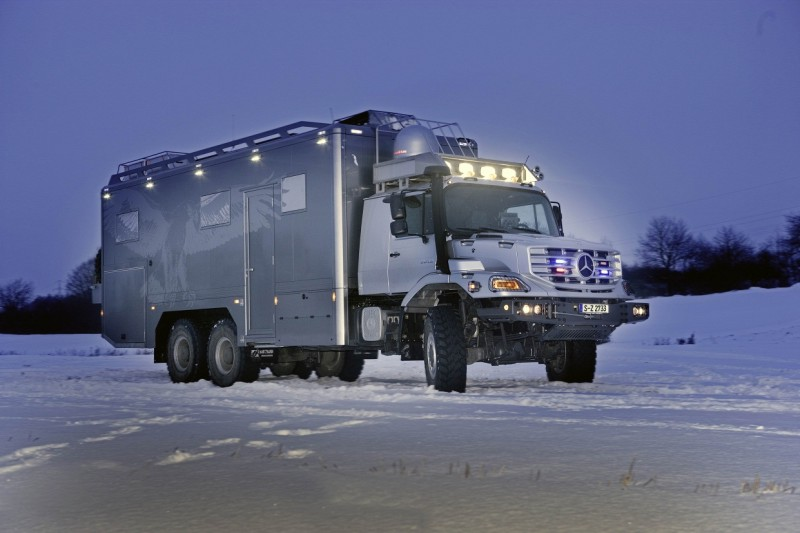 Zetros – The Luxurious Mobile Home by Mercedes Benz