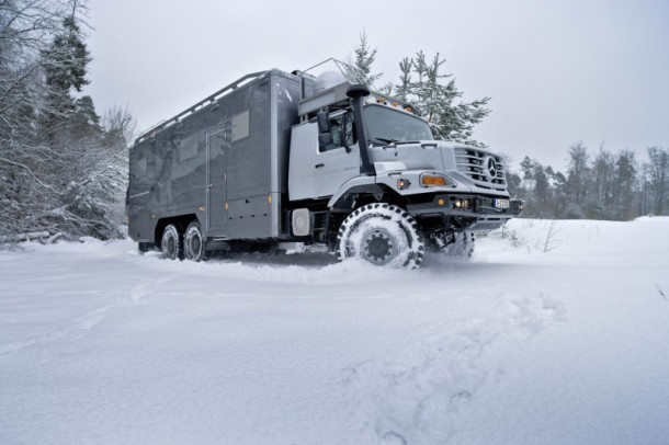 Zetros – The Luxurious Mobile Home by Mercedes Benz3