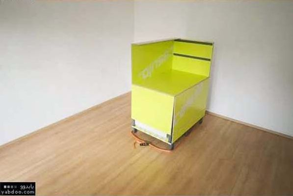furniture in a box