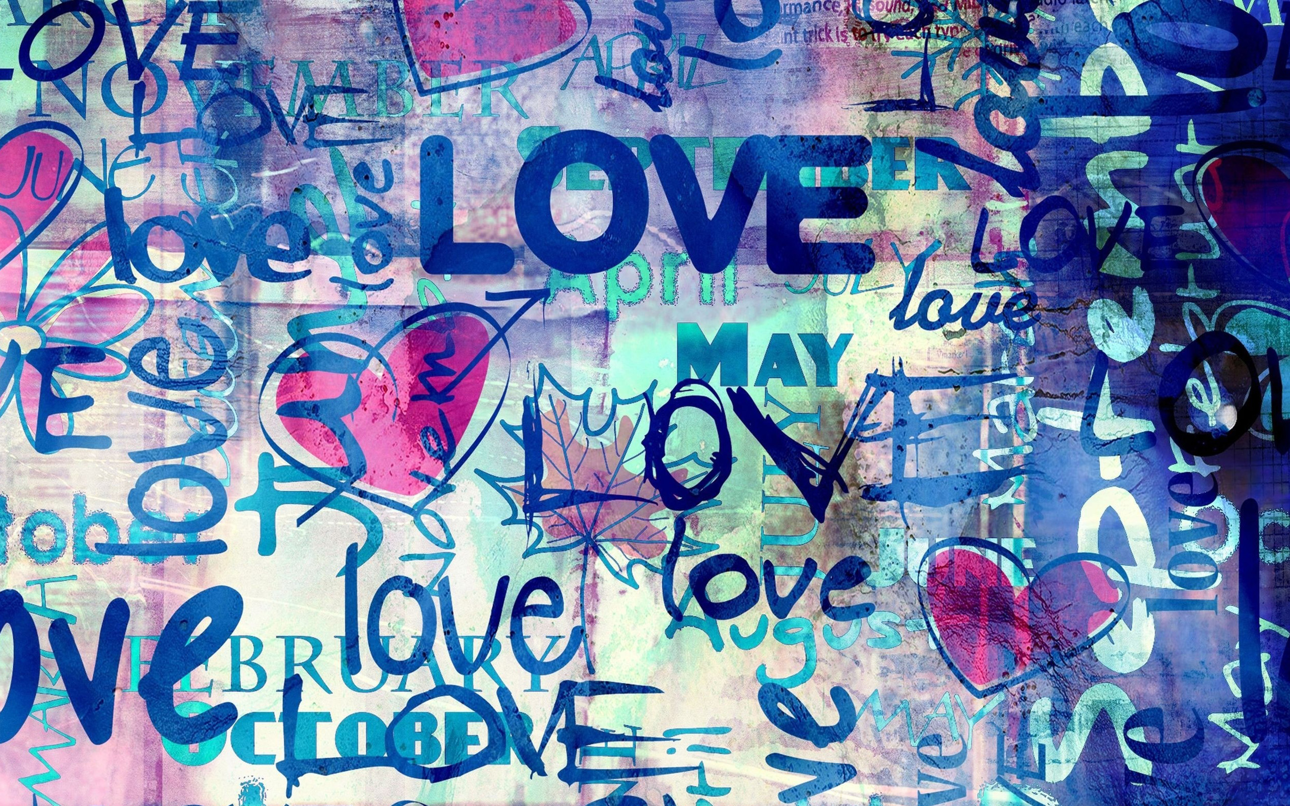 Love Wallpapers With Text : Download Free Graffiti Wallpaper Images For Laptop & Desktops
