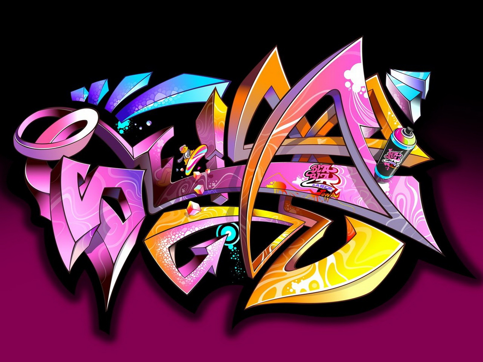 Download Free Graffiti Wallpaper Images For Laptop Desktops