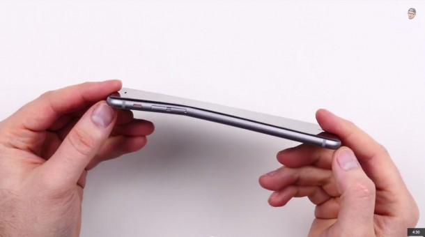 iPhone 6 bent 5