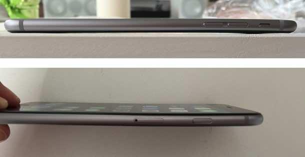iPhone 6 bent 8
