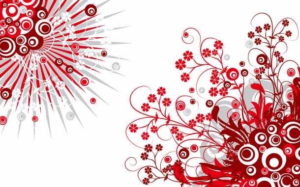 red wallpaper 25