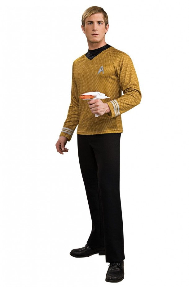 1. Deluxe Adult Captain Kirk Costume