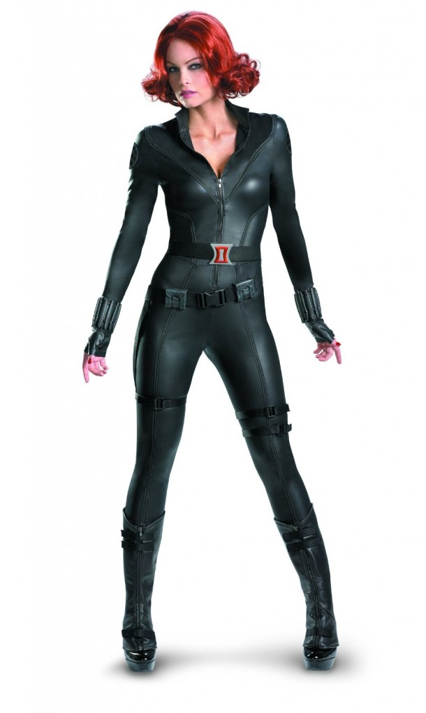 1. Disguise Marvel's Avengers Movie Black Widow Avengers Theatrical Adult Costume