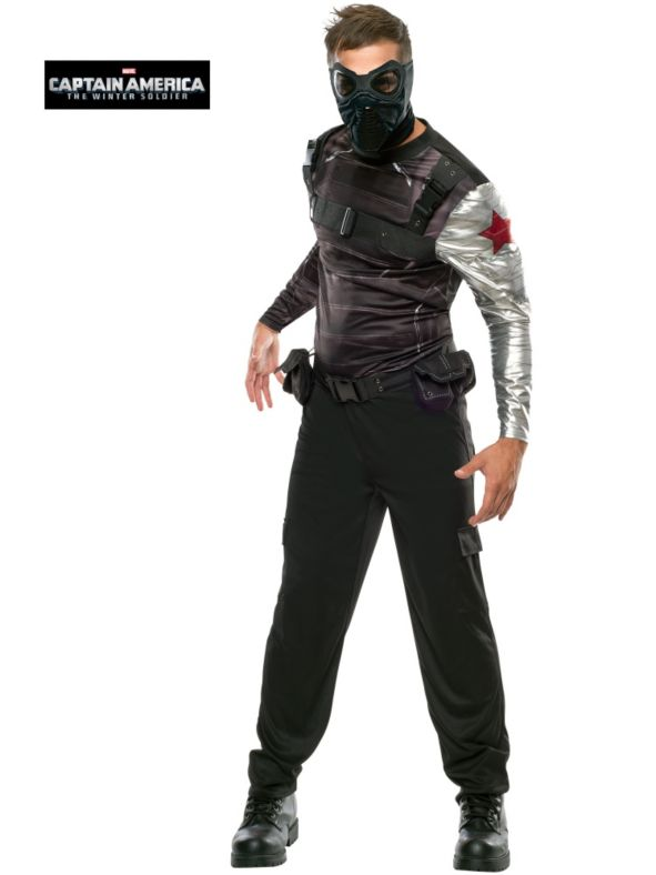 10. Adult Captain America 2 Winter Soldier Costume