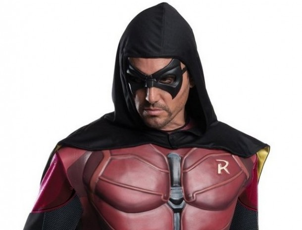 2. Rubie's Costume Men's Batman Arkham City Adult Robin
