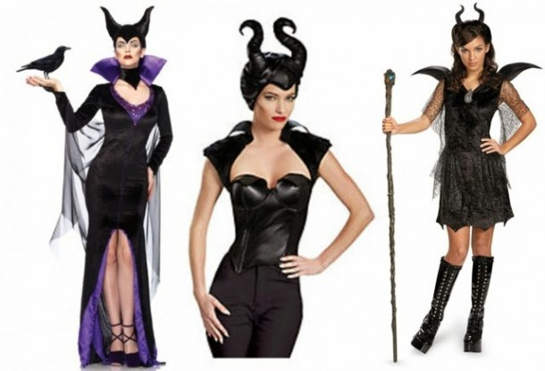 3. Disguise Women's Disney Maleficent Movie Malefcient Bustier