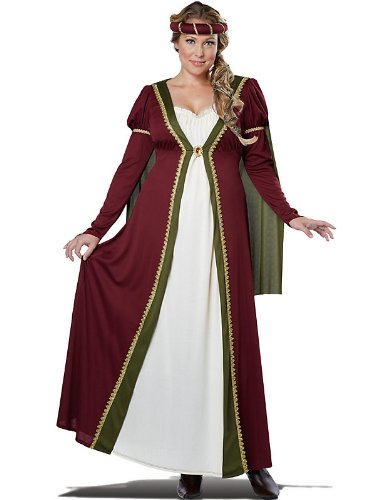 4. California Costumes Medieval Maiden Adult Costume