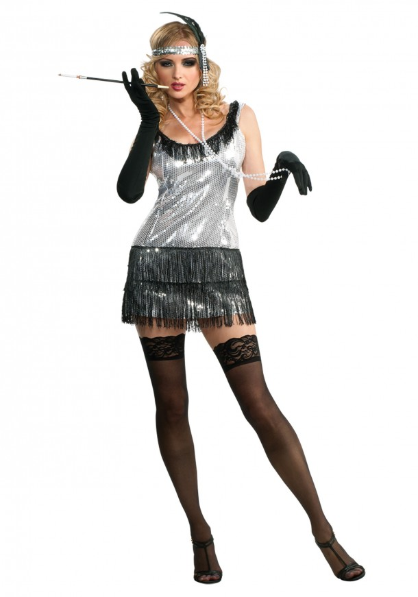 5. Forum Novelties Roaring 20's Sequin Flapper Bere