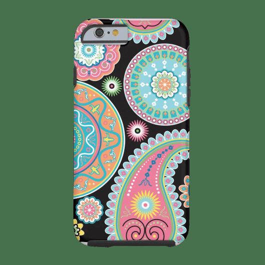 7. Boho Girl Paisley Multicolor Phone Case iPhone 6 Case