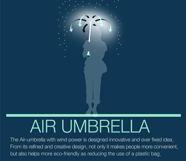 Air Umbrella - New Approach to Umbrella Design2
