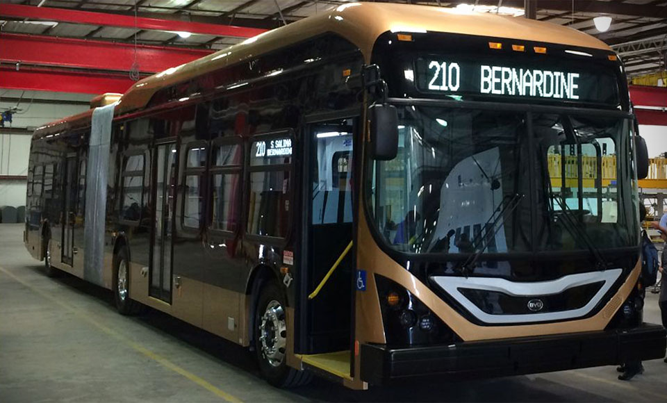BYD Introduced the World's Largest EV – The Lancaster eBus3