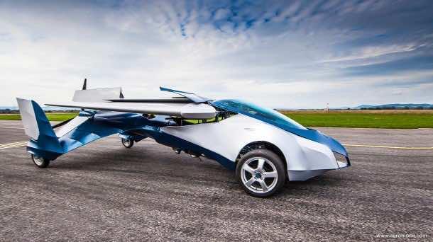 Flying Car - AeroMobil3