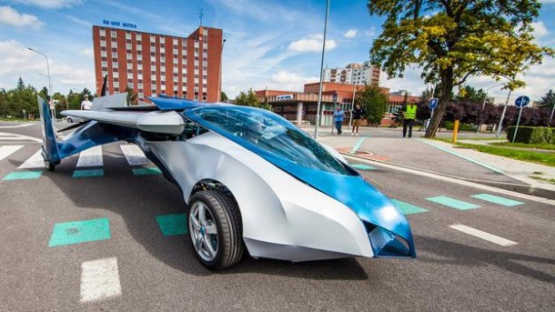 Flying Car - AeroMobil8