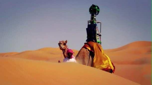Google Maps Liwa Desert in Abu Dhabi2
