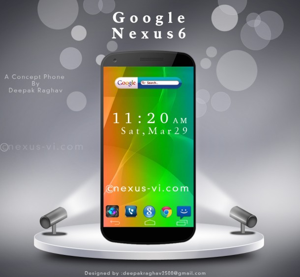 Google Nexus 6 5