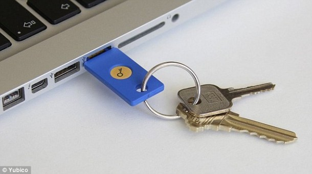 Google Security Key – Stepping up Security