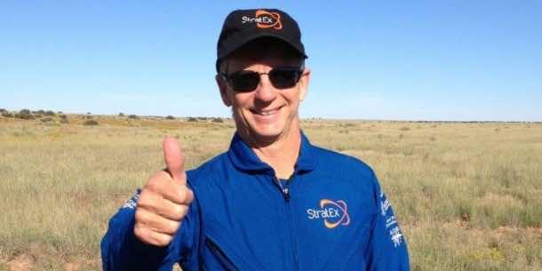 Google Senior Executive Breaks Felix Baumgartner's Record for Highest Parachute Jump7