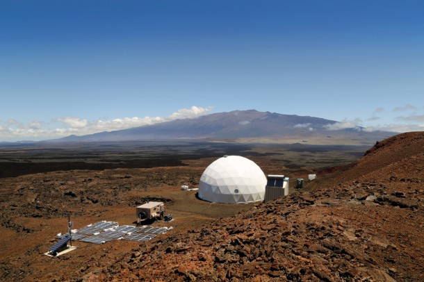 Home for Astronauts in Mars – Practice in Hawaii2