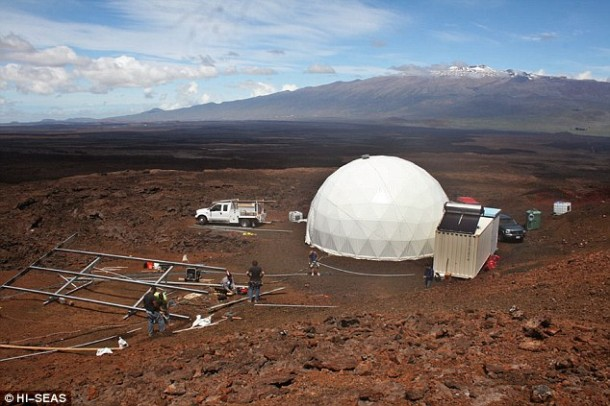 Home for Astronauts in Mars – Practice in Hawaii3