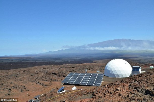 Home for Astronauts in Mars – Practice in Hawaii7
