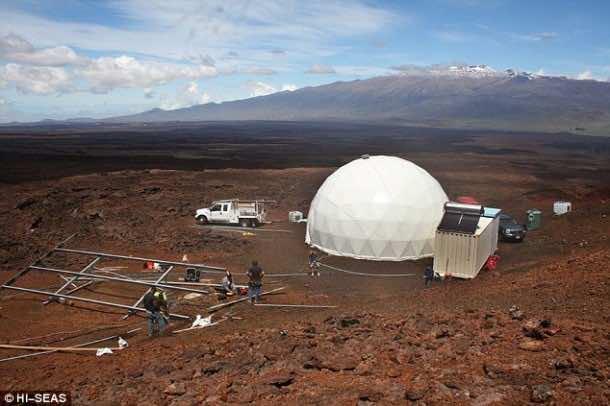 Home for Astronauts in Mars – Practice in Hawaii3