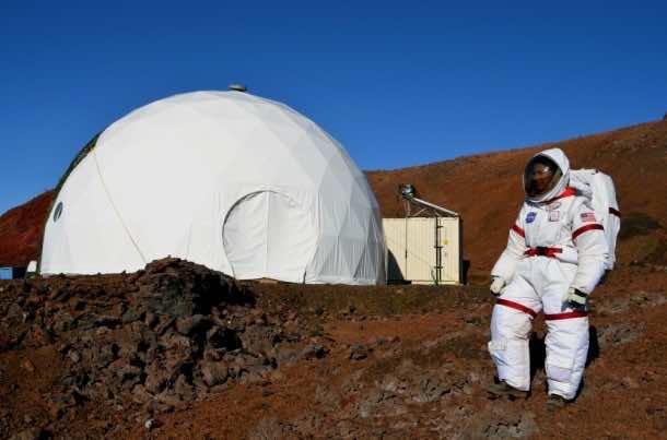 Home for Astronauts in Mars – Practice in Hawaii6